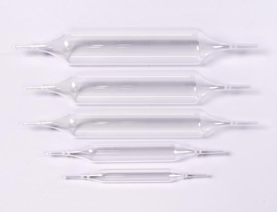 Emballage primaire - Ampoules double pointe en verre