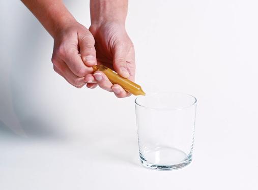 Ampoule médicale double pointe en verre